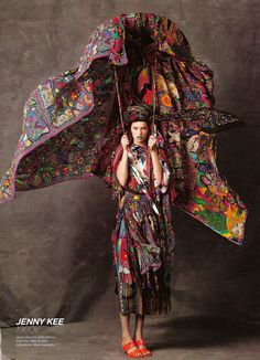 (interiors) LOVE the idea of a big parasol/fabric umbrella, ref to water. NEED BIG FAN.
