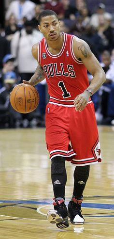 162321dc98d5 Derrick Rose  1 of the Chicago Bulls at the Verizon Center on February 28