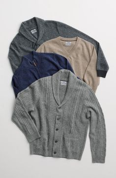 Cashmere for him.