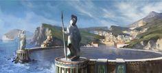 Knightscar, capital del reino.