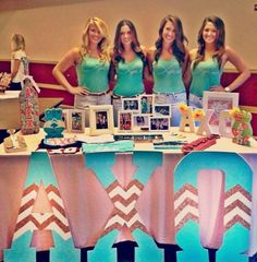 Beta Eta's summer recruitment table!