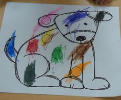 Classroom Freebies Too: Dog's Colourful Day Freebie