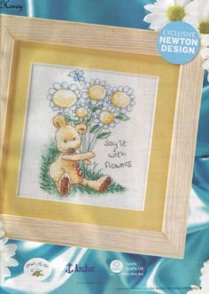 Newton Say it with Flowers The World of Cross Stitching Issue 111 June 2006 Saved