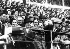 """Ernest and Pauline Hemingway attend a bull fight, Pamplona, Spain, summer 1928. Photograph by """"Rodero"""""""