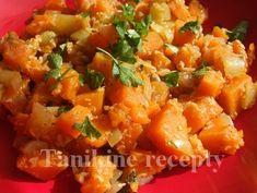 Jednoduché tekvicové sabzi Pumpkin Recipes, Salsa, Ethnic Recipes, Food, Meal, Salsa Music, Restaurant Salsa, Essen, Hoods