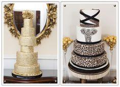 Go wild with cake! Bush Wedding, Wedding Bells, Wedding Gowns, Wedding Invitation Templates, Wedding Invitations, African Wedding Cakes, Safari Cakes, Traditional Wedding Cakes, African Theme
