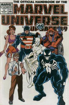 Official Handbook Marvel Universe Update '89 8: