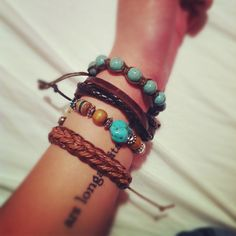 Tattoo and bracelets