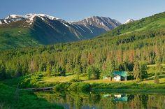 Lower Summit Lake Photos, Stock Photos of Kenai Peninsula, Alaska Summit Lake, Kenai Peninsula, Lake Photos, Cabin In The Woods, Lake Cabins, Seen, Alaska Travel, Cozy Cabin, Outdoor Life