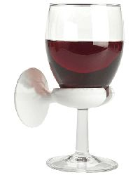 Wine-glass holder for your bathtub....I need this!!!