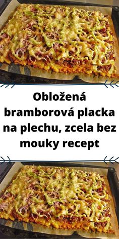 Czech Recipes, Ethnic Recipes, Lasagna, Paleo, Food And Drink, Low Carb, Pizza, Gluten Free, Meals