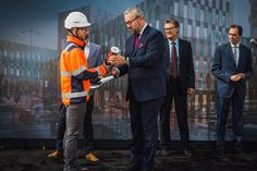 Skanska has laid the cornerstone for High5ive (PL)