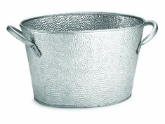 TableCraft GT159 Oval Stainless Steel Beverage Tub with Galvanized Pebbled Texture 15 by 9 by 75Inch -- Want additional info? Click on the image.