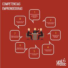 8 #competencias #emprendedoras #infografia
