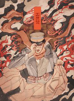 """ロロ on Twitter: """"不死身… """" Manga Art, Anime Manga, Anime Guys, Anime Art, Fantasy Comics, Anime Fantasy, Chiba, Inu Yasha, Cowboy Bebop"""