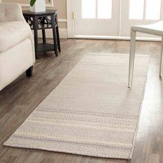 Safavieh Kilim Orpa Hand Woven Flat Weave Wool Runner Rug, Beige
