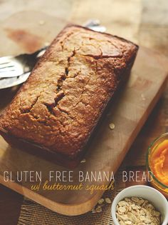 Gluten Free Banana Bread with Butternut Squash