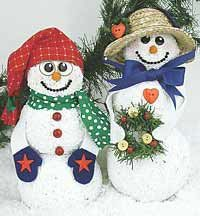 Holiday Snow Couple Snowman Decorations, Handmade Christmas Decorations, Snowman Crafts, Sock Snowman, Snowmen, Reindeer, Christmas Snowman, Christmas Crafts, Christmas Ornaments