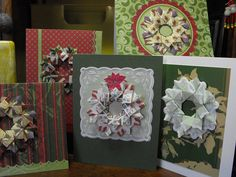 tea bag folding designs by paperfacets, via Flickr