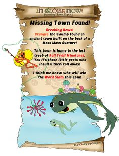 """In GlOba #2 """"Missing Town Found!"""" - tY lOnEy pOwEr!"""