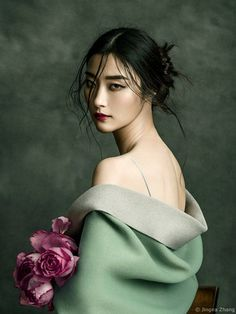 Harper's Bazaar VN cover outtake with Ji Hye Park . - Harper's Bazaar VN cover outtake with Ji Hye Park . - Motherland Chronicles - Alodia II - Hanfu Portrait Outtake from Nov cover with ❤️ Photography Stylist Model Hair Makeup Flowers Outfit Fashion Model Poses, Fashion Photography Poses, Makeup Photography, Photography Women, Fine Art Photography, Amazing Photography, Portrait Photography, Photography Flowers, Photography Tutorials
