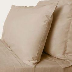Debenhams Natural cotton rich percale bed sheets- at Debenhams.com