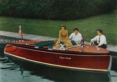 Imagine spending a sunny summer day on a lake in the upper Midwest cruising around in a beautiful wooden 1941 Chris Craft Barrel Back. What could possibly be more fun?
