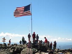 Flags on the 48's, Mt Moosilauke