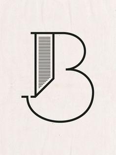 I ♥ Typography - graphic design, logo design Font. Typography Served, Typography Love, Typography Letters, Graphic Design Typography, Logo Design, Branding Design, Logo Typo, B Logo, Typographie Logo