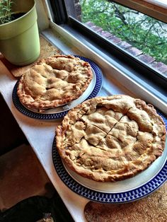 Perfect Pies Cooling In The Window