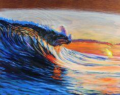 Crush 3 Bilder Bild Wellen Surfen auf Leinwand Wandbild Poster