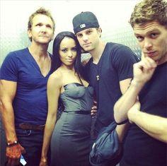 Sebastian, Kat, Nate, Joseph