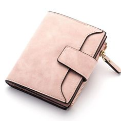 Retro Matte Women Wallet Hasp Zipper Brand Wallets Female Coin Purse PU Leather Lady Money Pouch Bag Candy Color Card Holder