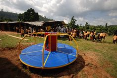 These Playgrounds Generate Electricity at Recess