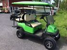 Lifted Club Car Precedent Golf Cart 48 Volt 4 Seater Extended Roof & Charger