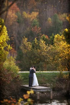 This is why people adore fall weddings | Image by Alison Conklin Photography
