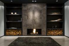 Weldor gas openhaard met meubelwand - Product in beeld - - Startpagina voor sfeerverwarmnings ideeën | UW-haard.nl