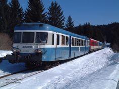 Composition 5 caisses idéale avec l'X 2816 en tête - Le Rail Ussellois