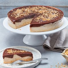 Weight Watchers Kuchen, Wight Watchers, Ww Desserts, Sweets Cake, Nice Cream, Cacao, No Bake Cake, Healthy Snacks, Clean Eating