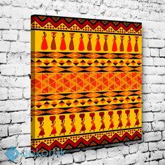 Ethnic African Tablo I #dekoratif_kanvas_tablo