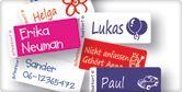 Namensetiketten | Bügeletiketten | Aufkleber |SelbstklebeEtiketten | Sachen Markieren - GutMarkiert