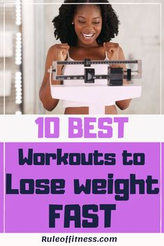 Exercising and diet are essential to lose weight. Here are the 10 best workouts to lose weight fast. Boost your weight loss with those workouts. The best exercises to burn belly fat and get fit faster. Best Diet Plan For Weight Loss, Best Diets To Lose Weight Fast, Workout To Lose Weight Fast, Fast Workouts, Losing Weight Tips, Healthy Weight Loss, Workout Tips, Kickboxing, Stomach Fat Loss