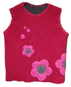 HAND MADE ORIGINAL Design Sweater Vest (Ages 18-24 Months) -  For SALE $25.00 -  For payment details send email at artwork@ZubArt.net