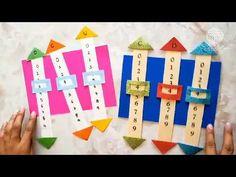 "Como hacer juegos de aprendizaje: ""Unidades, Decenas y Centenas"" (Tutorial) - YouTube Hand Crafts For Kids, Craft Activities For Kids, Preschool Activities, Math Classroom, Classroom Decor, Jolly Phonics, Kindergarten Learning, Homeschool Math, Math Games"