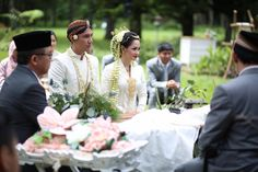 andien aisyah ippe wedding lembang bandung hutan pinus the bride dept Javanese Wedding, Indonesian Wedding, Nikah Ceremony, Lembang, Akad Nikah, House Party, Dream Wedding, Wedding Things, Vows