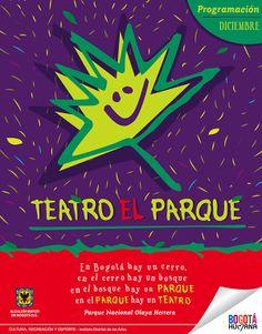 Imagen / Teatro el Parque Concepto, diseño e ilustración. Diseño: Jessica Sierra.  Bogotá, 2012.