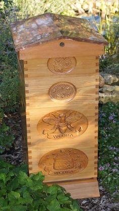 WOW!! beautiful hive <3