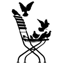Find out all of the information about the Paristic product: animals wall sticker IN THE TUILERIES. Stencils, Stencil Art, Silhouette Clip Art, Silhouette Cameo Projects, Kirigami, Printable Art, Printables, Vintage Labels, Digi Stamps