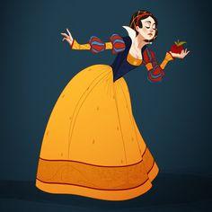 Na série Historical Disney Princesses, a ilustradora americana Claire Hummel redesenhou as princesas Disney de acordo com o lugar e época da narrativa.