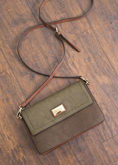 Essential - Crossbody or clutch handbag by Simply Noelle in fern